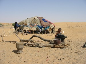 The Sahara Desert is expanding in West Africa, making life extremely difficult for populations around Timbuktu, in northern Mali.
