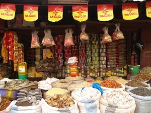 In the Medina Market in Bamako, Mali, nutritious fermented condiments have to compete with heavily marketed, artificial flavour-enhancers such as Maggi from Nestlé