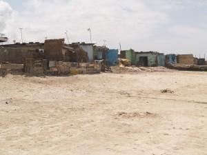 Coastal erosion in Accra, Ghana