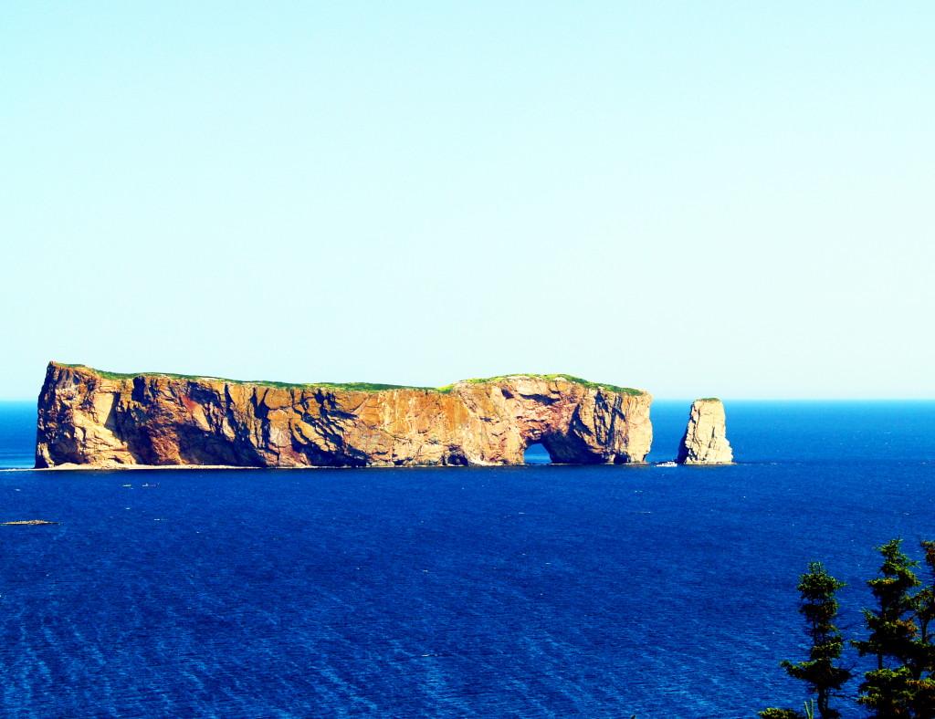 Percé Rock, Gaspe Peninsula, Quebec