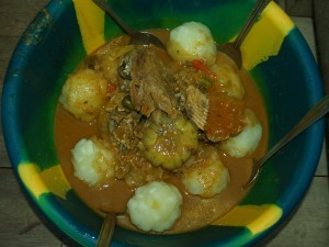 Delicious and nutritious cuisine in West Africa did not involve processed foods.