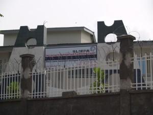 SLIEPA office in Freetown, SIerra Leone