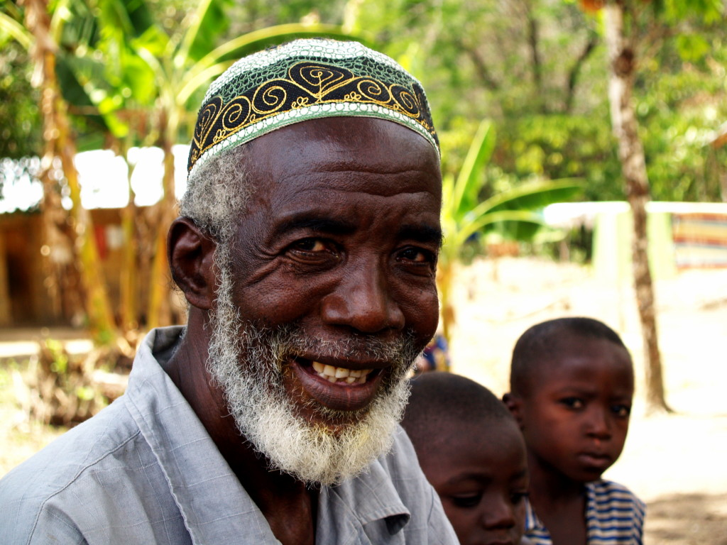 The late Amos Kamara, chief of London Village in Kono District and Master Farmer too.
