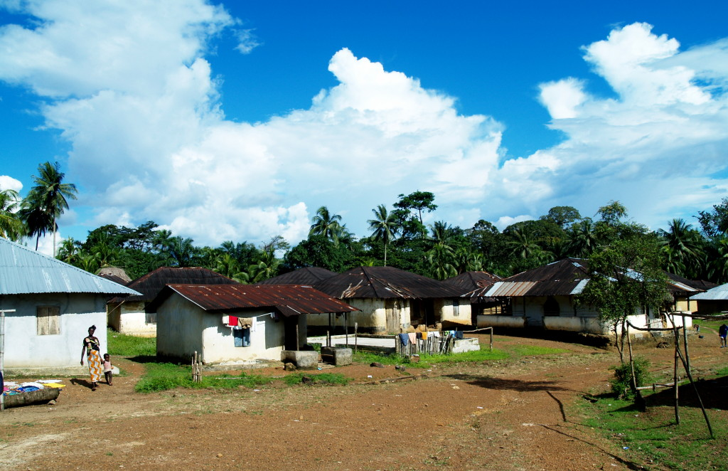 Bassaleh, Pujehun District, a village that struggled to prevent Socfin Agricultural Company from taking their rich farmland for oil palm plantations