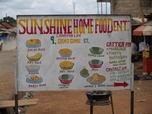 Sierra Leone's diverse dishes reflect diverse farms and crops, which food aid can undermine.